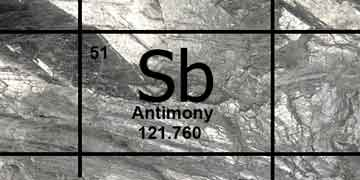 <strong>Antimonio metal</strong>